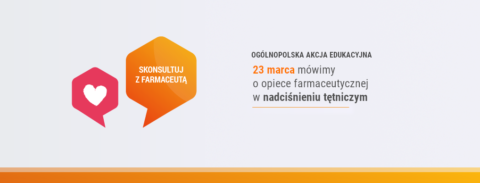 Skonsultuj zFarmaceutą – Nadciśnienie Tętnicze 2019