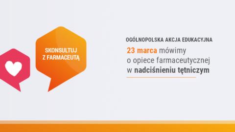 Skonsultuj zFarmaceutą – Nadciśnienie Tętnicze2019