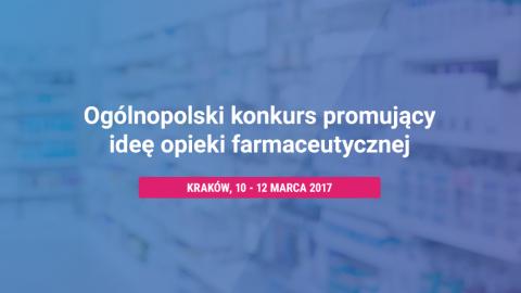 Konkurs Opieki Farmaceutycznej PTSF