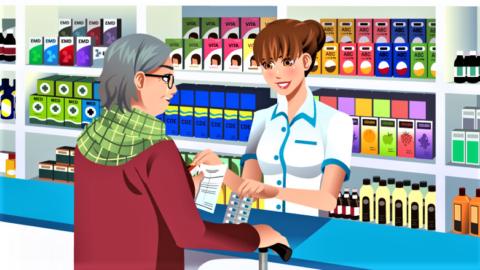 Wczym farmaceuta (nie) może pomóc pacjentowi waptece?