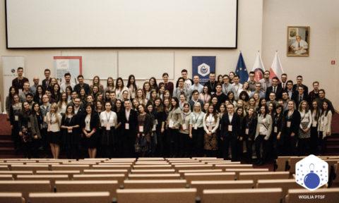 Relacja zWigilii Polskiego Towarzystwa Studentów Farmacji