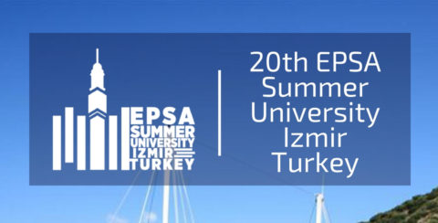 EPSA Summer University 2018 –Izmir