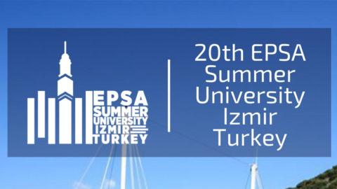 EPSA Summer University 2018 – Izmir