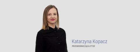 Przewodnicząca PTSF opowołaniustowarzyszenia