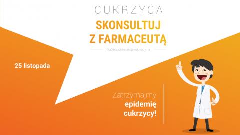 Skonsultuj zFarmaceutą – zatrzymajmy epidemięcukrzycy!