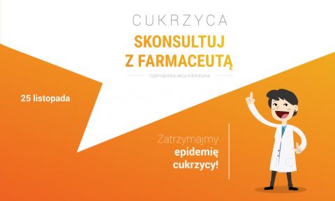 Skonsultuj zFarmaceutą – zatrzymajmy epidemię cukrzycy!