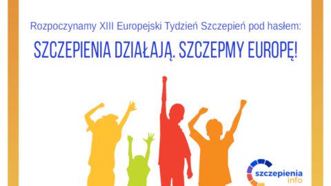 Szczepienia działają, szczepmyEuropę!