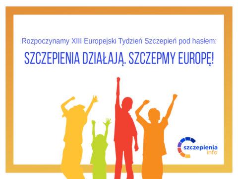Szczepienia działają, szczepmy Europę!